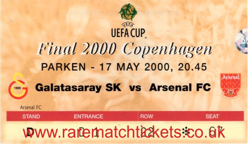 2000 uefa final GALATASARAY 0 [ARSENAL] 0